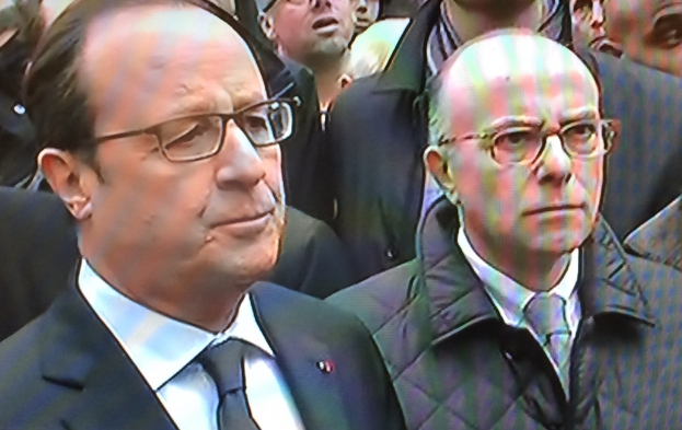 François Hollande et Bernard Cazeneuve