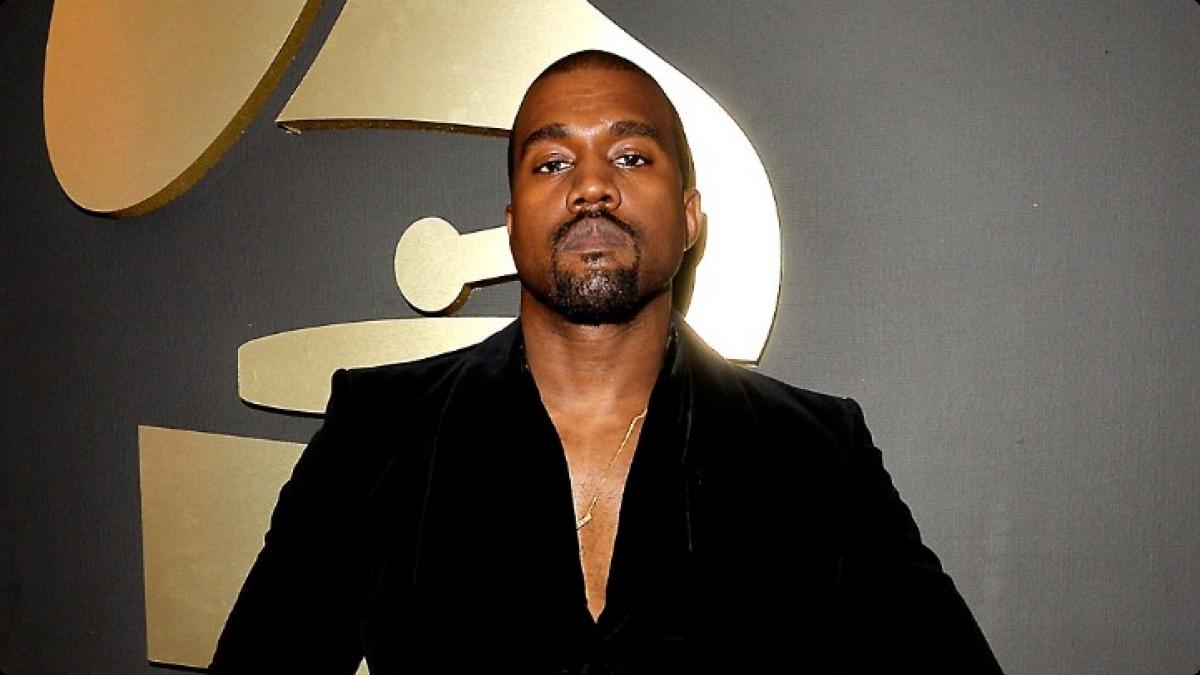 Kanye West a la soirée des Grammy Awards