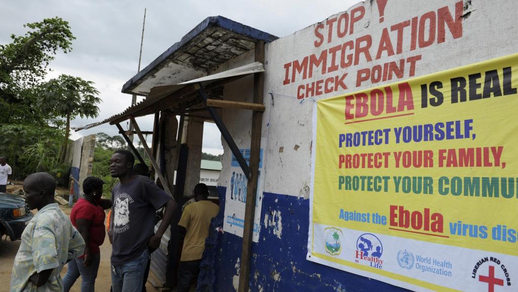 La frontière réouverte au Libéria
