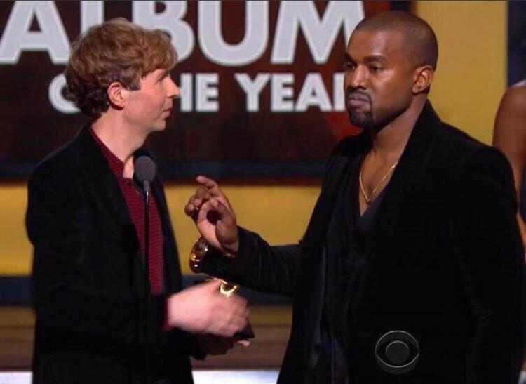 L'intervention de Kanye West aux Grammy Awards