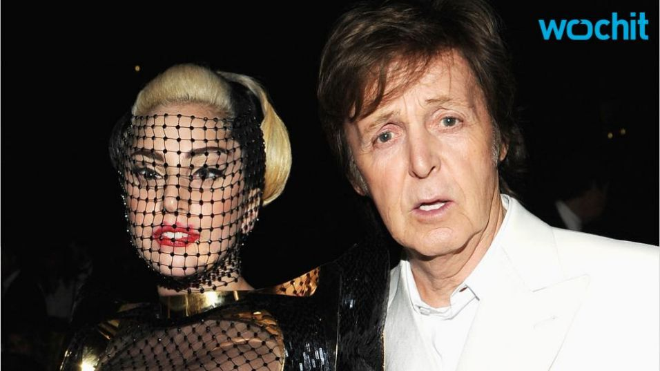 Paul McCartney et Lady Gaga