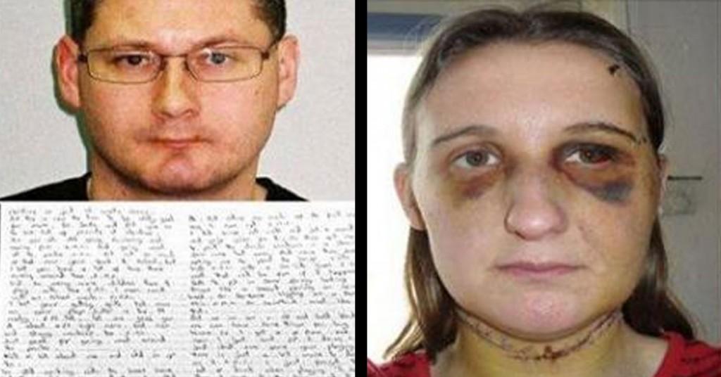Torturée, elle est forcée de lui écrire en prison