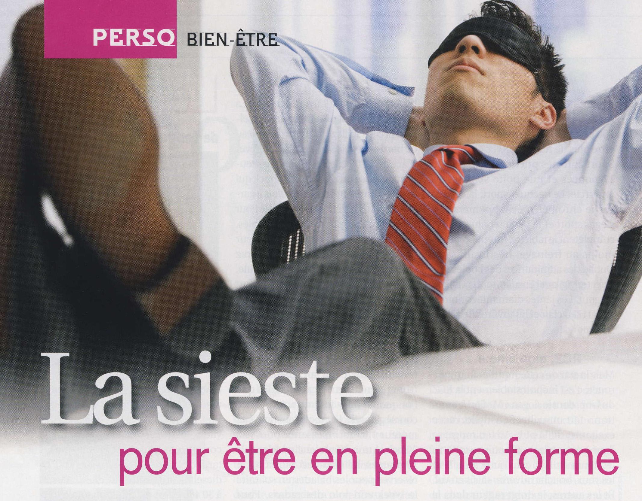 Une sieste aurait des effets favorables sur le niveau de stress et le système immunitaire