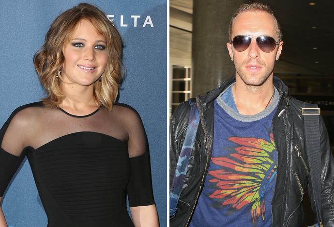 Jennifer-Lawrence et Chris-Martin-
