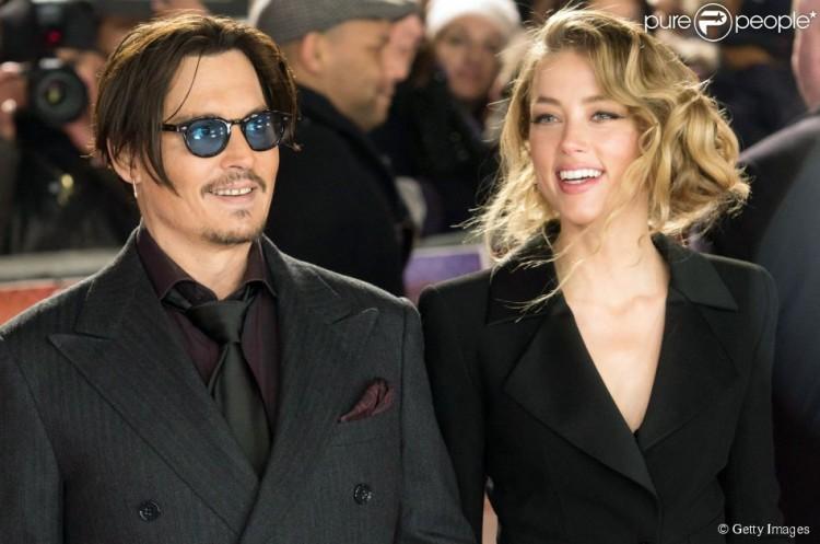 Johnny Depp et Amber Heard ont sauté le pas