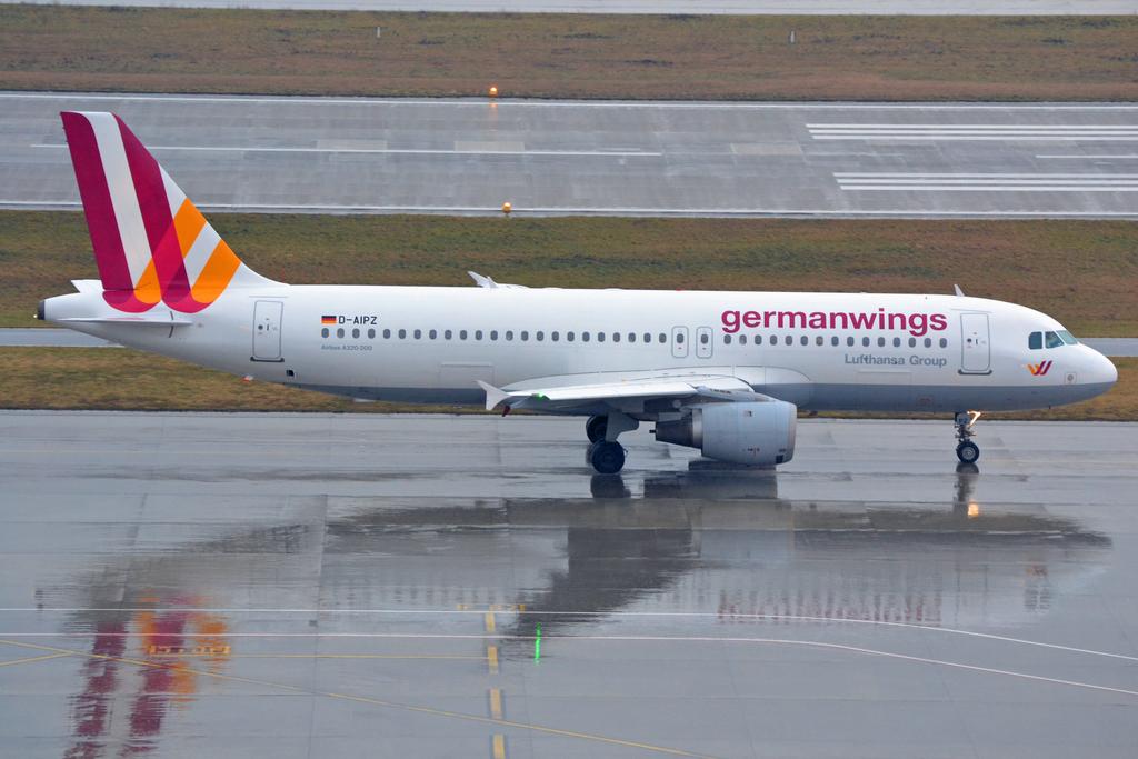 Airbus A320 de la compagnie aérienne Germanwings