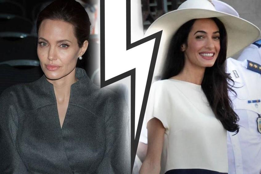 Angelina limite le contact avec Amal