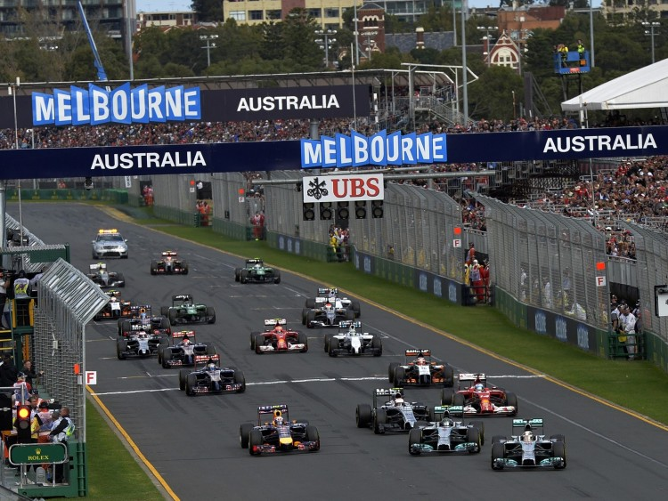 Grand Prix Formule 1 d'Australie en direct live streaming