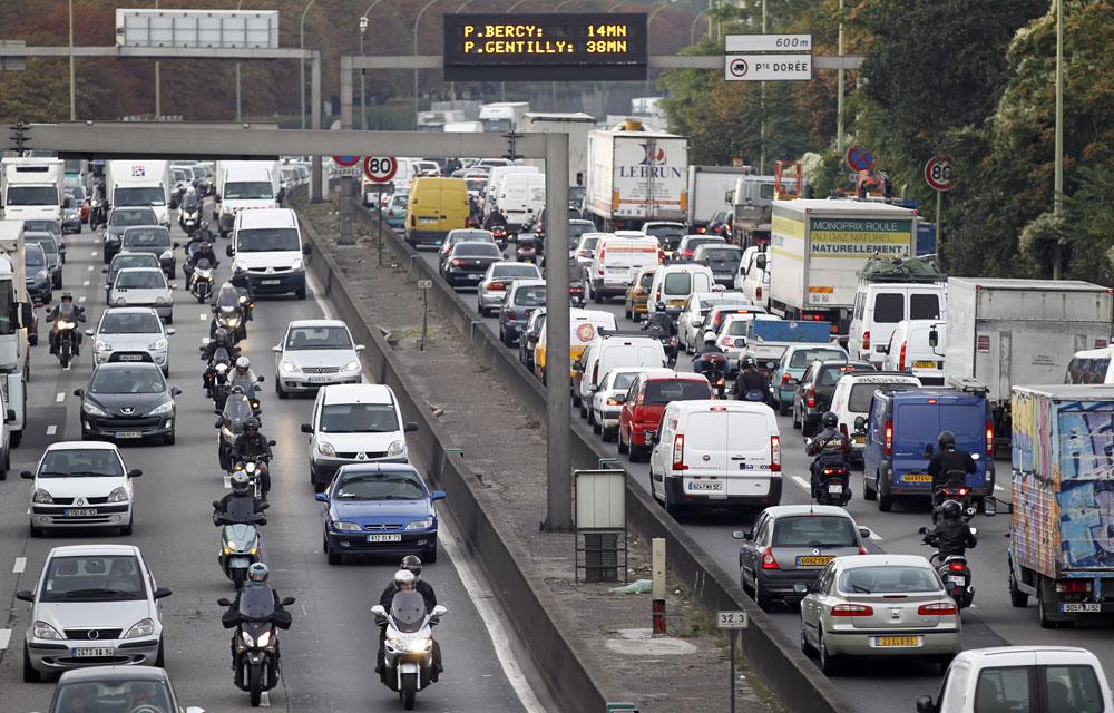 La circulation alternée sera mise en place dans la capitale dès aujourd'hui