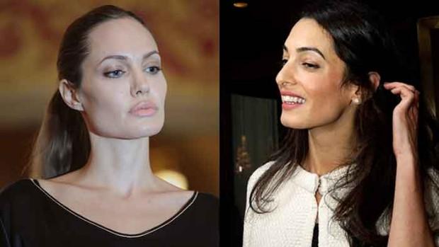 Le courant ne passe pas entre Angelina et Amal