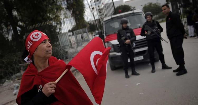 Manifestation Bardo - Tunisie