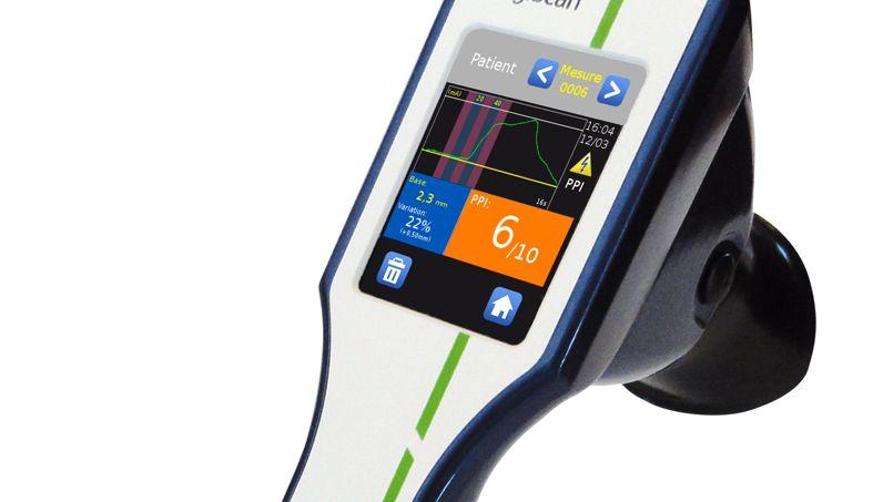 Un appareil pour mesurer la douleur