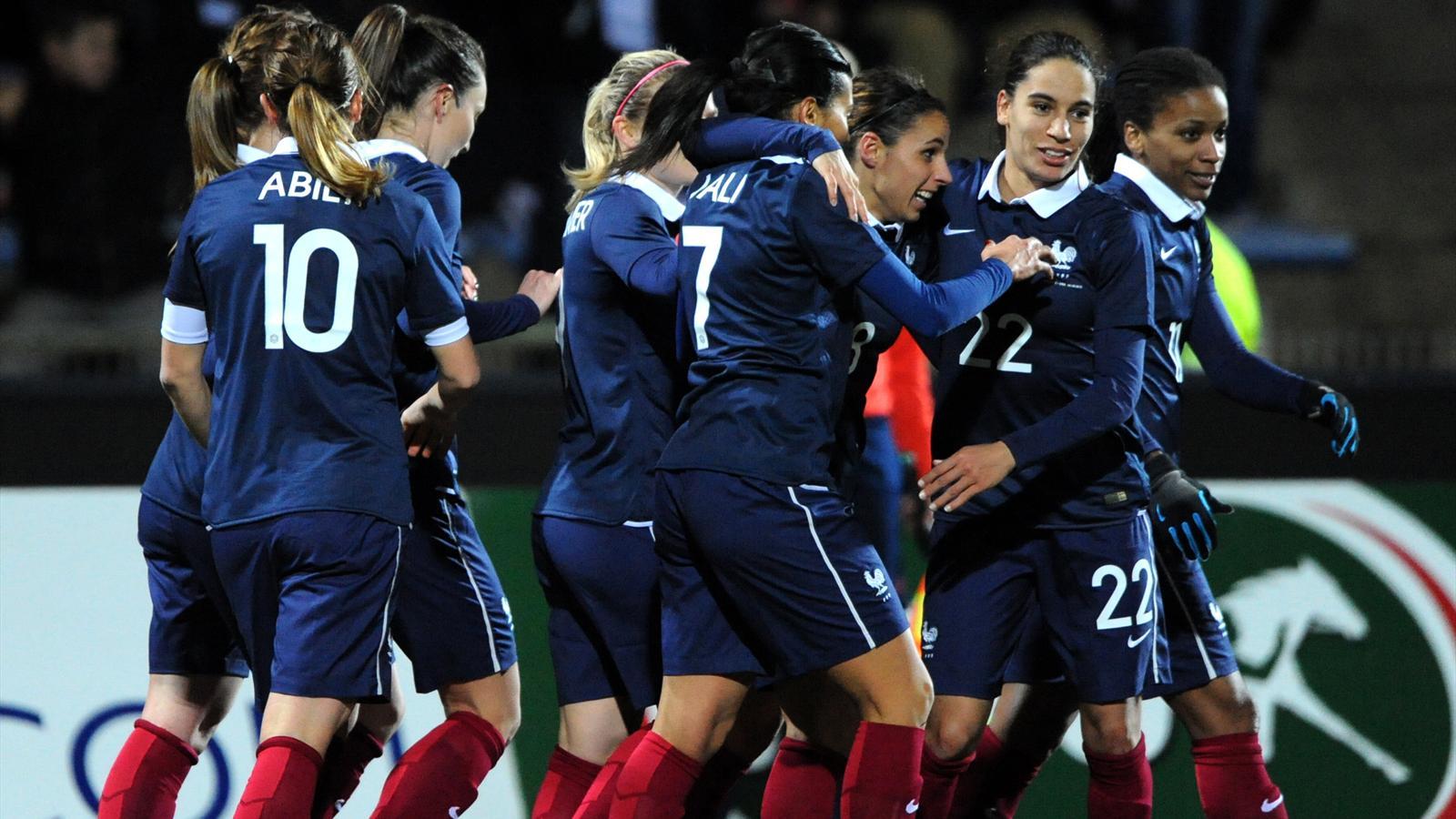 Football féminin: France - Canada en direct live streaming