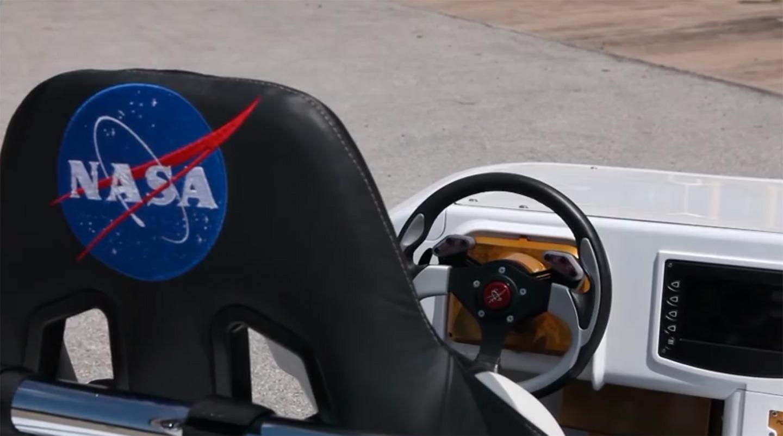 La voiture de la Nasa