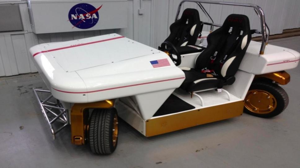 Modular Robotic Vehicle, l'oeuvre de la Nasa