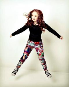 Cette jeune fille trisomique rêve de devenir mannequin