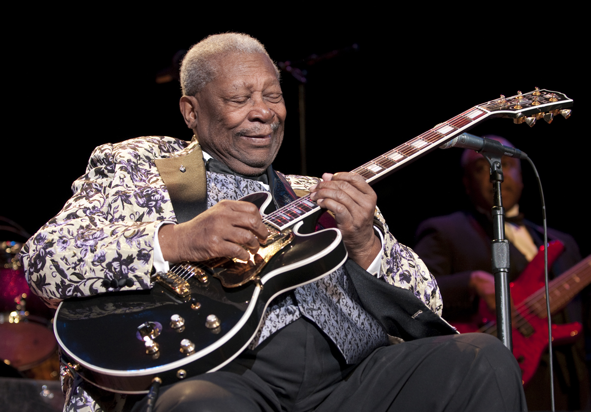 Le Grand BB King n'est plus !