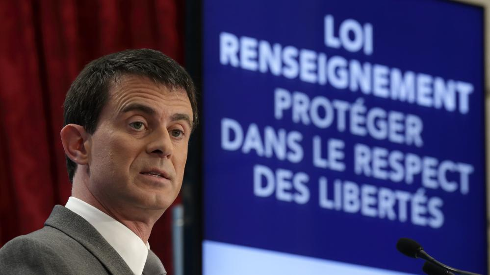France - Le projet de Loi Renseignement adopté