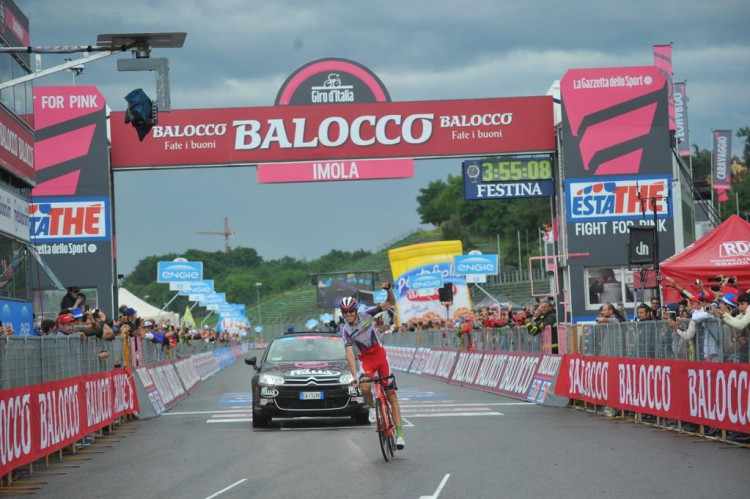 Ilnur Zakarin remporte la 11ème étape du Tour d'Italie GIRO 2015