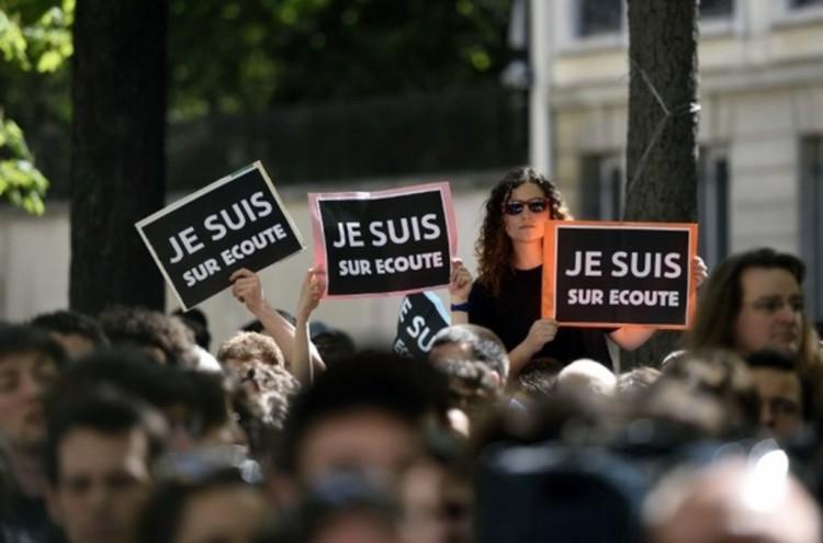 Manifestation contre la Loi Renseignement
