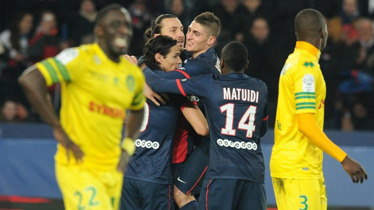 Match FC Nantes - Paris Saint-Germain en direct live streaming