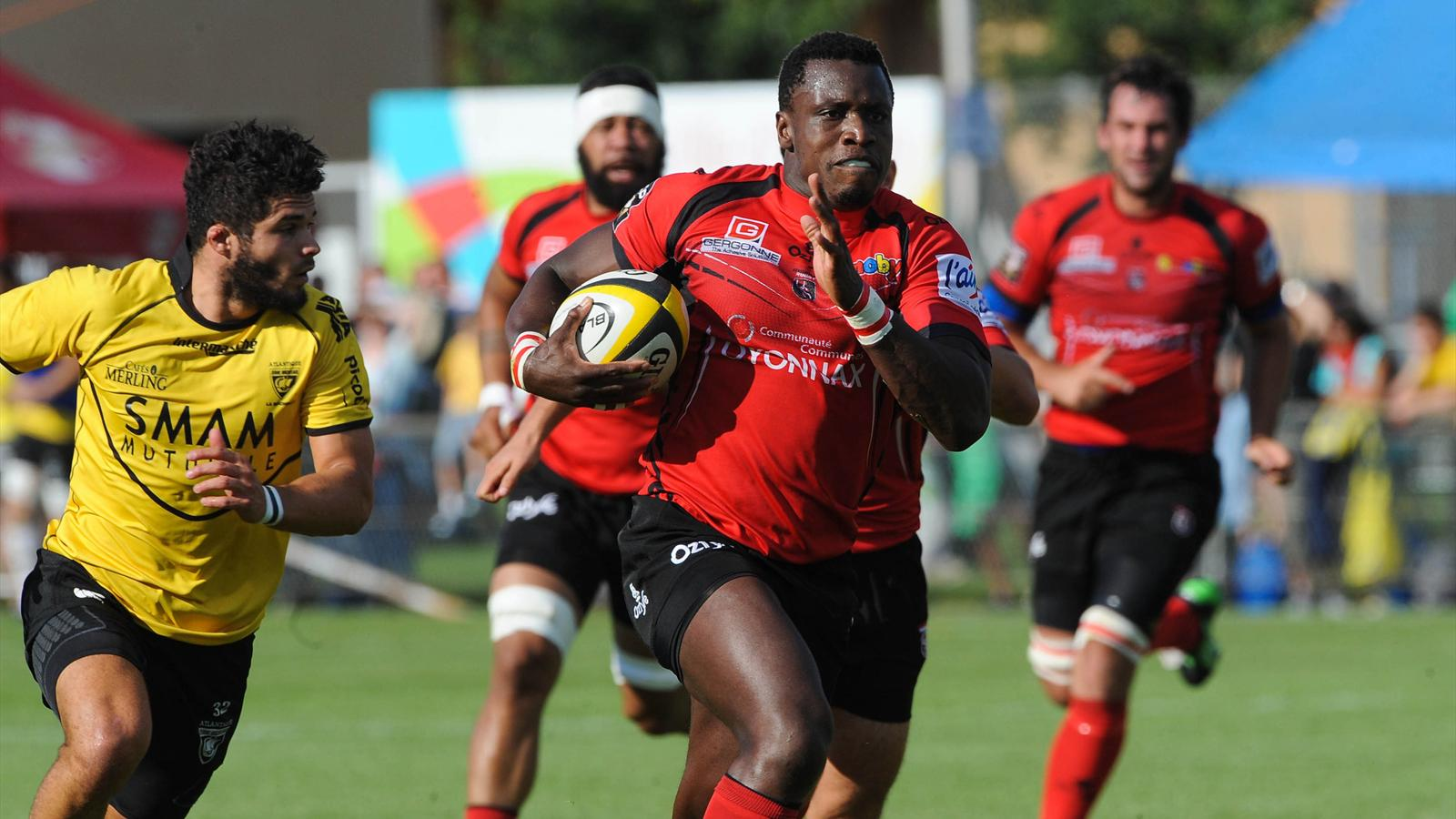 Rugby Top 14: US Oyonnax vs Lyon LOU en direct live streaming