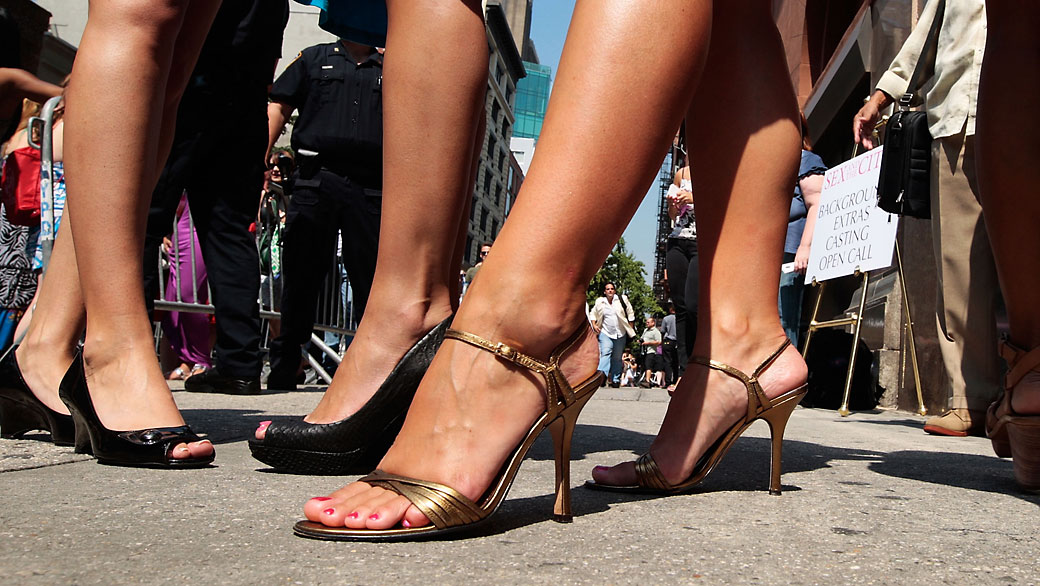 Attention mesdames : plus de 100.000 accidents de talons hauts en dix ans