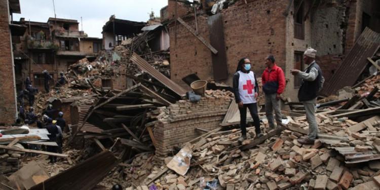 Tremblement de terre - Népal