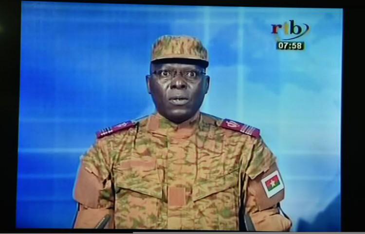 Burkina Faso - Lieutenant-colonel Mamadou Bamba