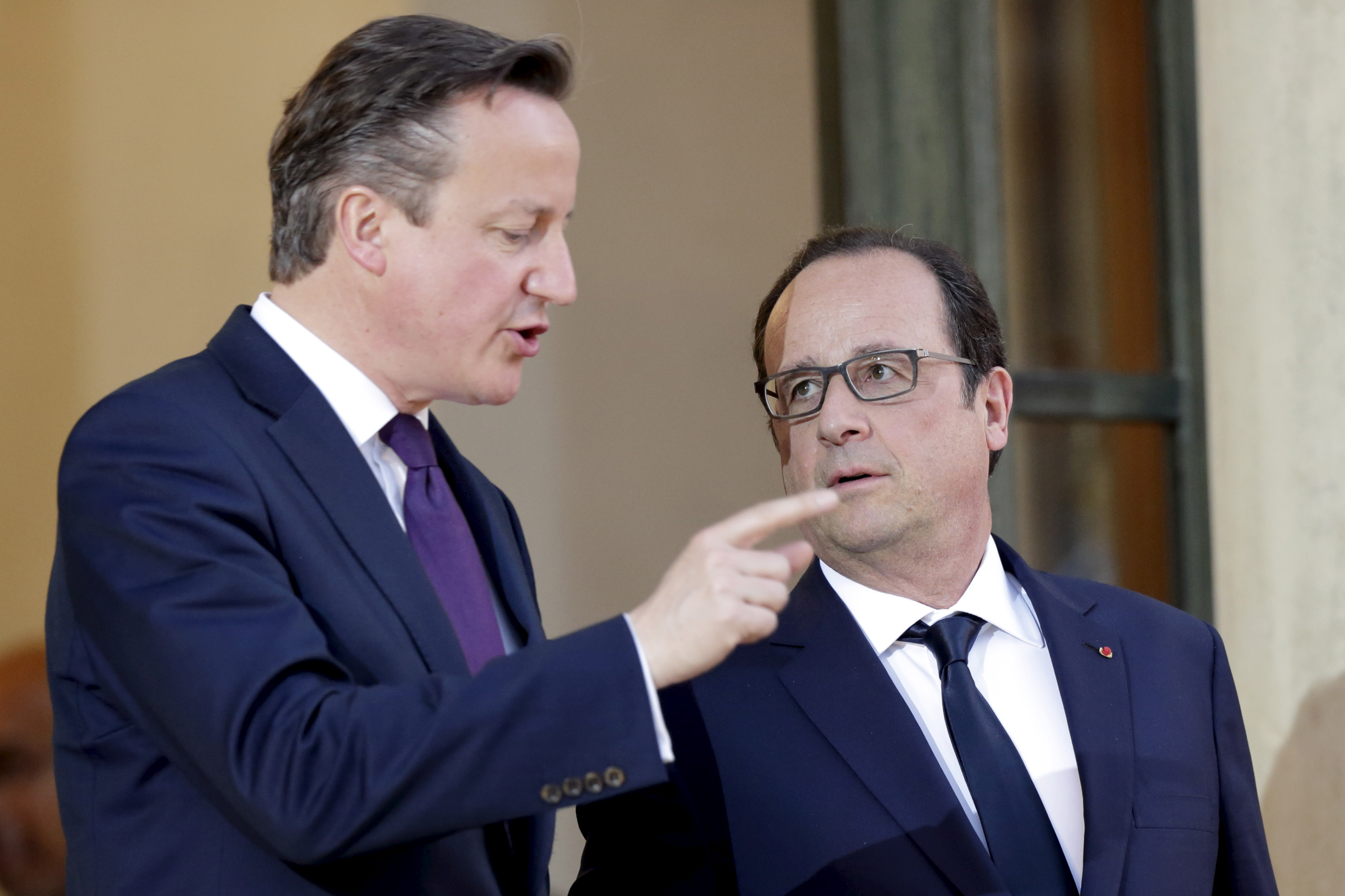 David Cameron - François Hollande