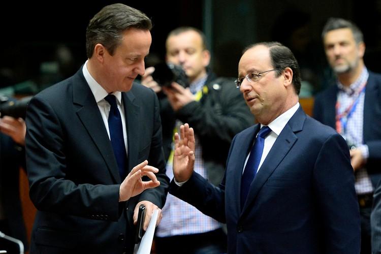 David Cameron - François Hollande