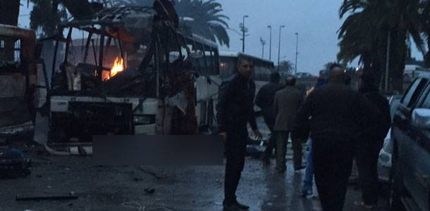 Explosion à Tunis
