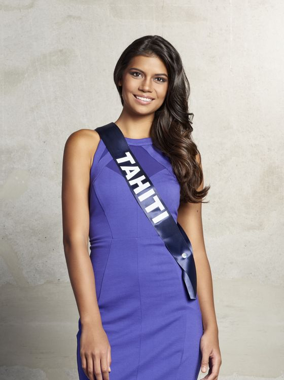 Miss France 2016 - Vaimiti Teiefitu
