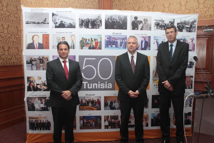 Lufthansa fête ses 50 ans de service et d'engagement en Tunisie