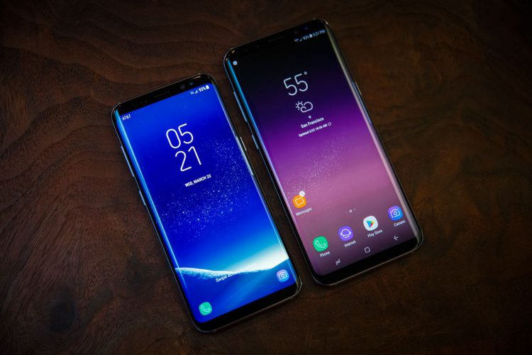 Samsung Galaxy S8 vs Samsung Galaxy S8 Plus
