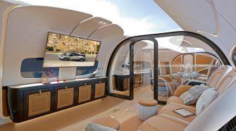 Airbus et Pagani lancent la cabine Infinito