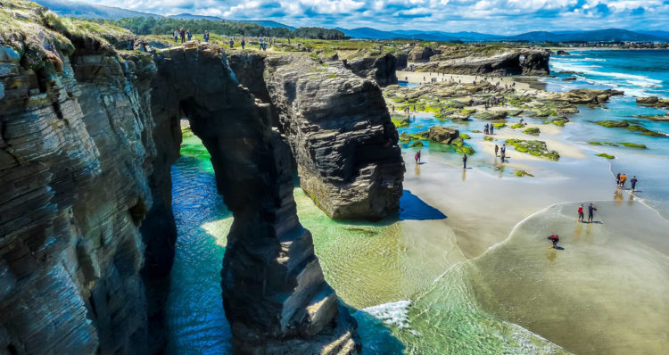 Cathedrals Beach - Ribadeo - Spain