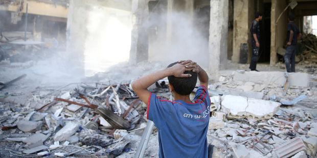 Syrie : la Ghouta orientale sous les bombes malgré la trêve...