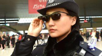 La police chinoise s'équipe de lunettes à reconnaissance faciale
