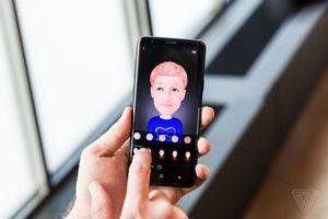Emoji AR sur Samsung Galaxy S9 / S9 Plus