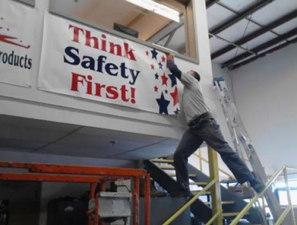 Penser sécurité d'abord...