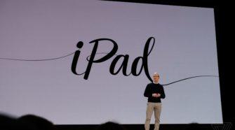 Apple dévoile un nouvel iPad de 9,7 pouces compatible avec l'Apple Pencil à seulement 299$