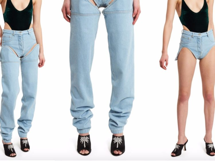 Les plus récents et bizarres Denim mode tendances sont ici et ils vous coûteront 405$