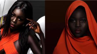 L'histoire de la «reine des ténèbres»: La modèle soudanaise qui a été dit de blanchir sa peau!