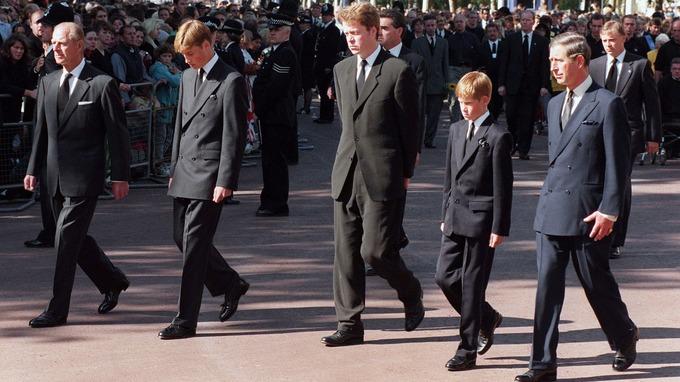 Les funérailles de la princesse Diana