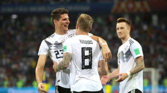 L'Allemagne se délivre difficilement et remporte son match contre le Suède