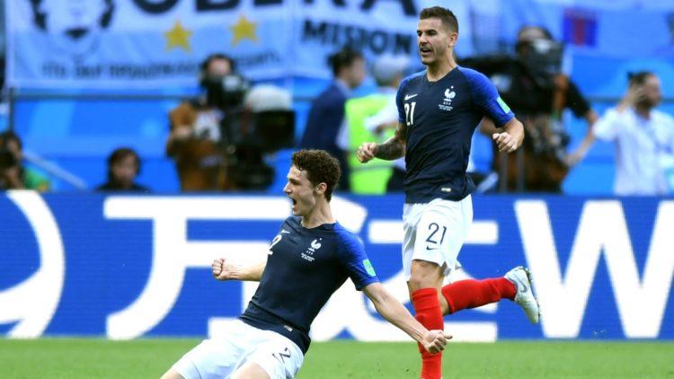Benjamin Pavard - France vs Argentine
