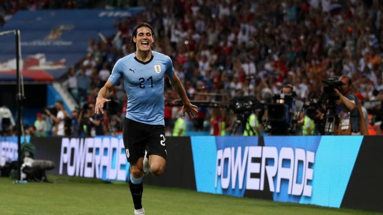 Edinson Cavani - Match Uruguay vs Portugal