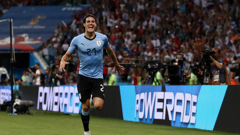 Edinson Cavani - Match Uruguay vs Portugal