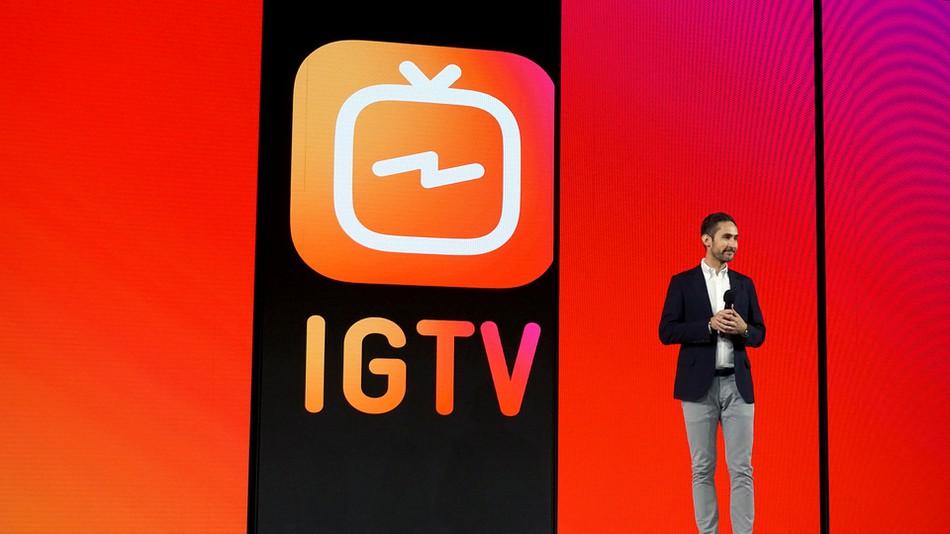 Instagram lance IGTV pour concurrencer Youtube